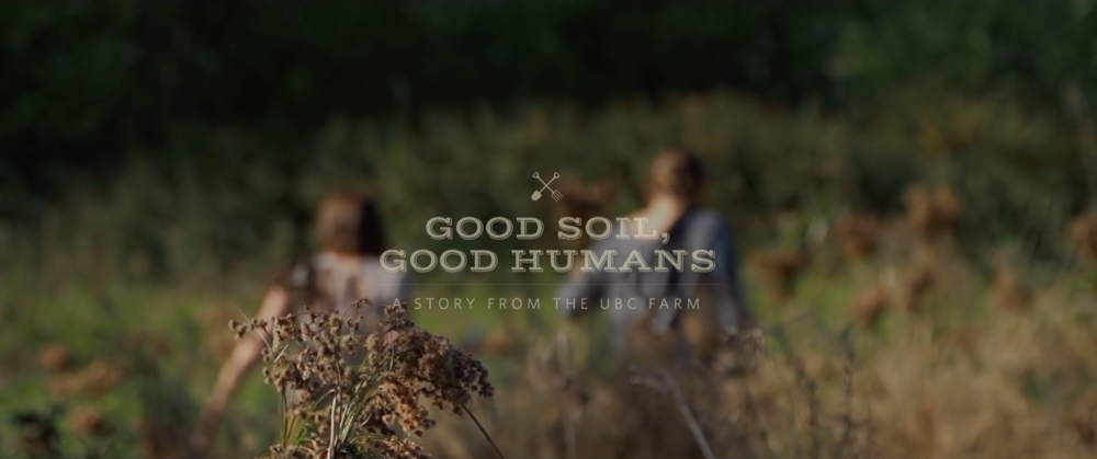 Good Soil, Good Humans