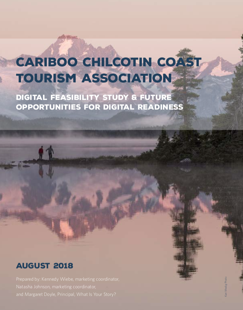 Tourism, Cariboo Chilcotin Coast, report