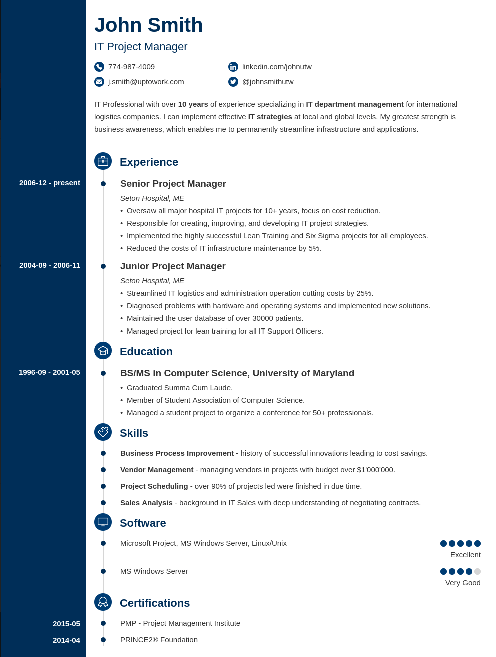 Resume Templates Pave Your Way