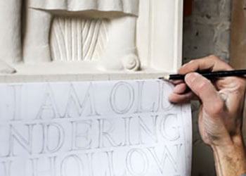 LEARN ABOUT LETTERING -  Take part in one of our exciting courses; experience the lettering arts for yourself. From one-day workshops to two-year letter carving apprenticeships, we've designed many ways to get involved with the art. WorkshopsTrainingCalendar