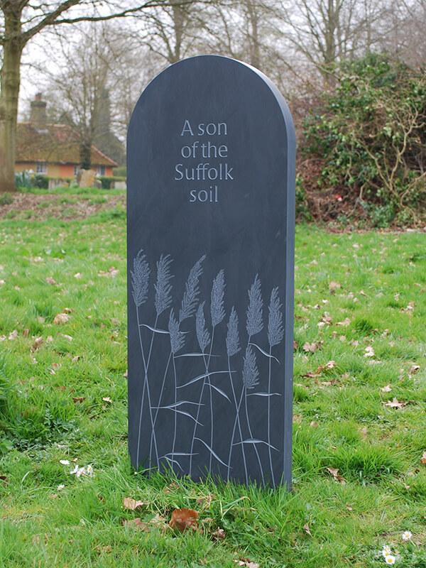 Headstone by Stuart Buckle