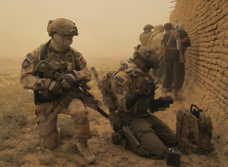 I nyhetsbrevet  Militärt kommer du bland annat få läsa om Sveriges specialförband, Särskilda operationsgruppen . Foto: Försvarsmakten
