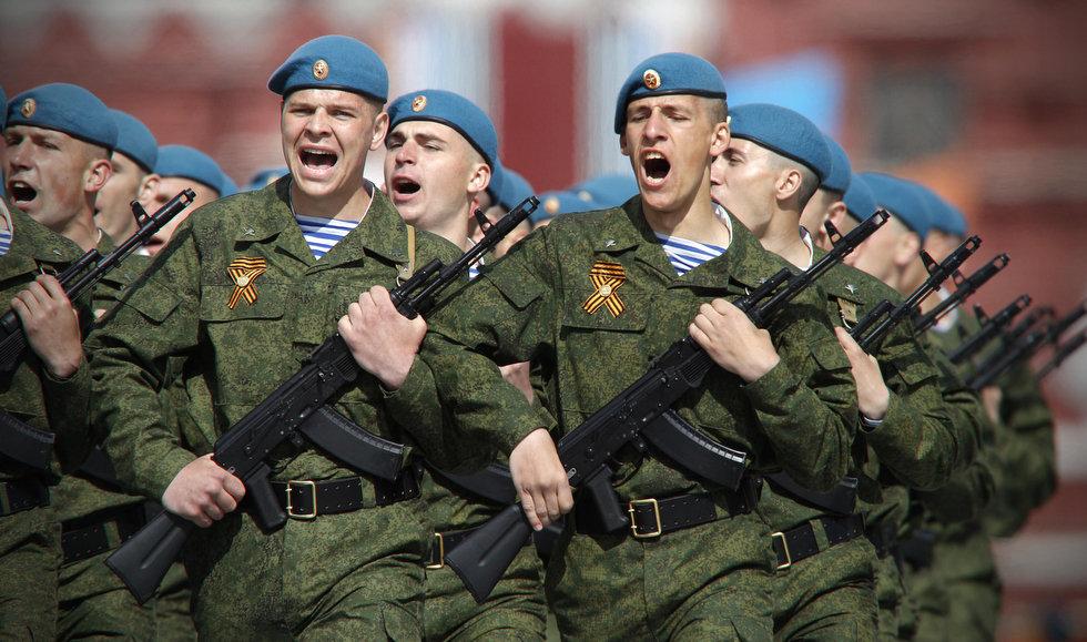 Ryska luftlandsättningsstyrkorna VDV är ett av de allra mest prioriterade förbanden i Putins Ryssland: Foto: jamestown.com
