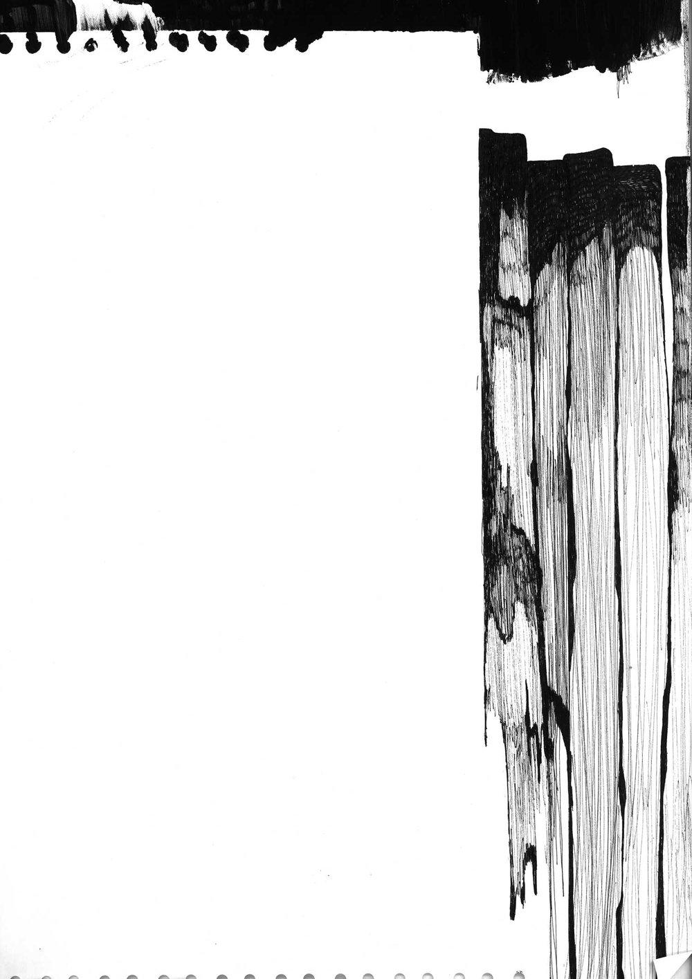 ink, pen (42x60 cm)