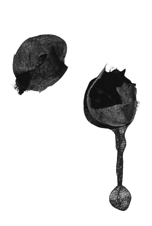 pen, acrylic mixed technique (30x42 cm).  -Available as Fine Art Print-