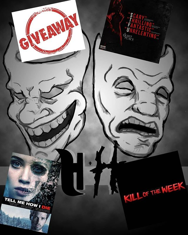 Heckles & Horror is back tonight at 10:15 with the 10th #episode! As a #specialtreat for tuning in, you'll be #eligible to win a #prize in the first ever H&H Giveaway!! You can't #win if you don't #tunein, so don't miss your #chance!! ... ... @mistertjdubbzkie #giveaway #hecklesandhorror #podcast #live #facebooklive #prizegiveaway #10thepisode #episode10 #heckles #horror #magicsquirrel #magicsquirrelnetwork #comedy