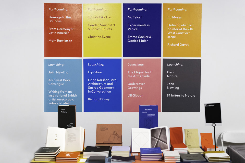 Beam Editions at the LA Art Book Fair