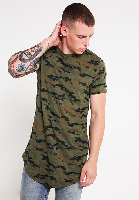 tshirt militaire -zlando