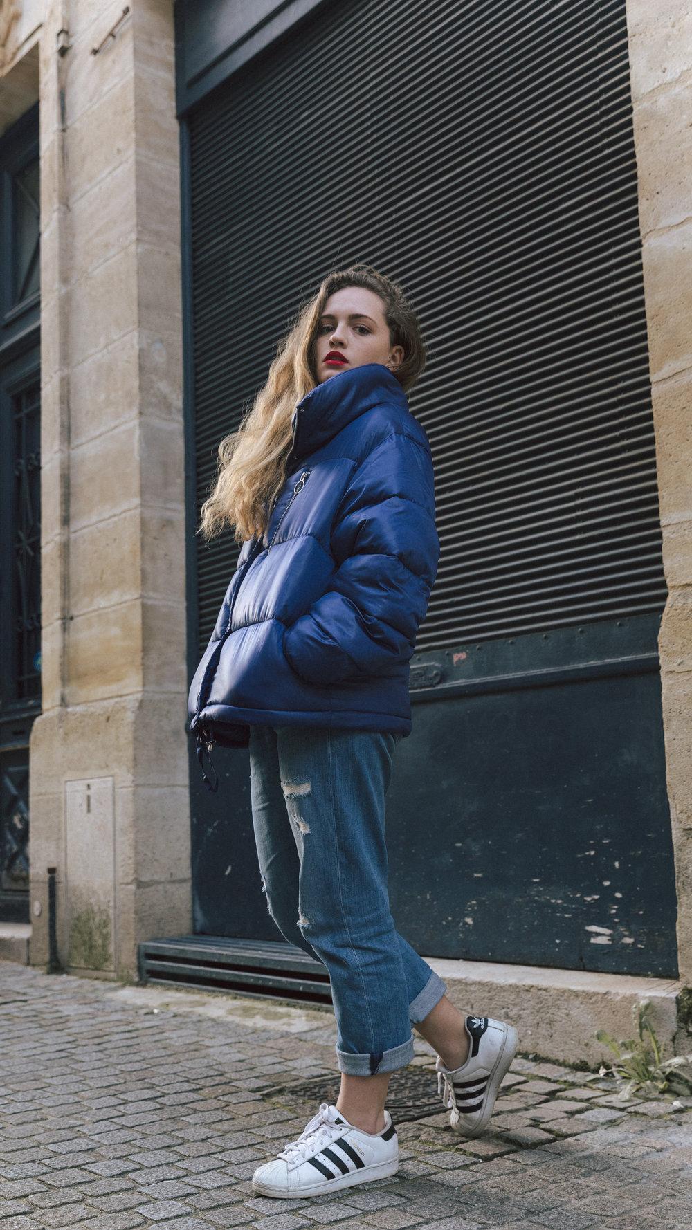 Bleu & basiques