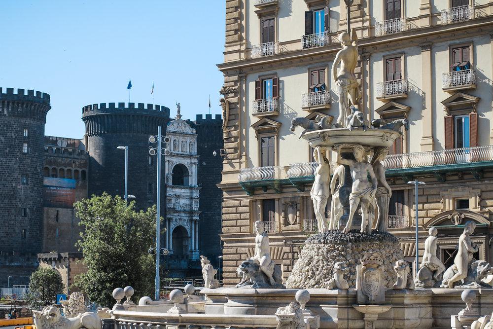 Piazza Municipio Naples