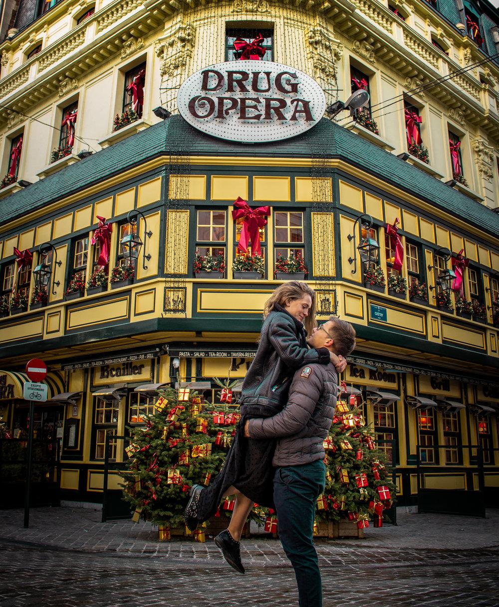 Bruxelles drug opera