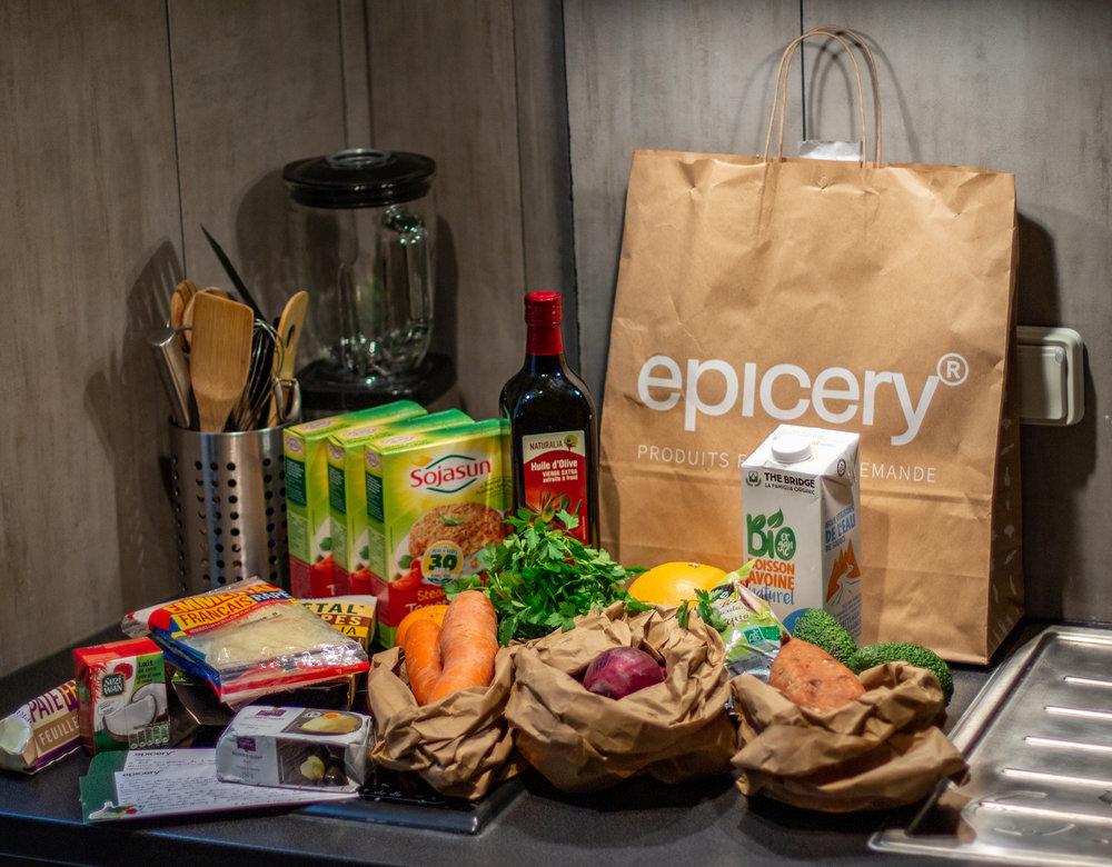 Epicery : le service de livraison de courses à Paris