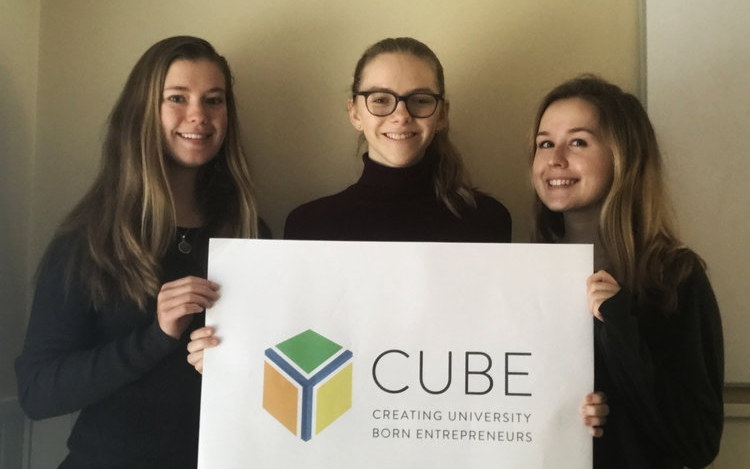 CUBE 4.0   In mid-November, Phyta was invited to join the CUBE 4.0 cohort, which is a UNC-based incubator for social ventures.
