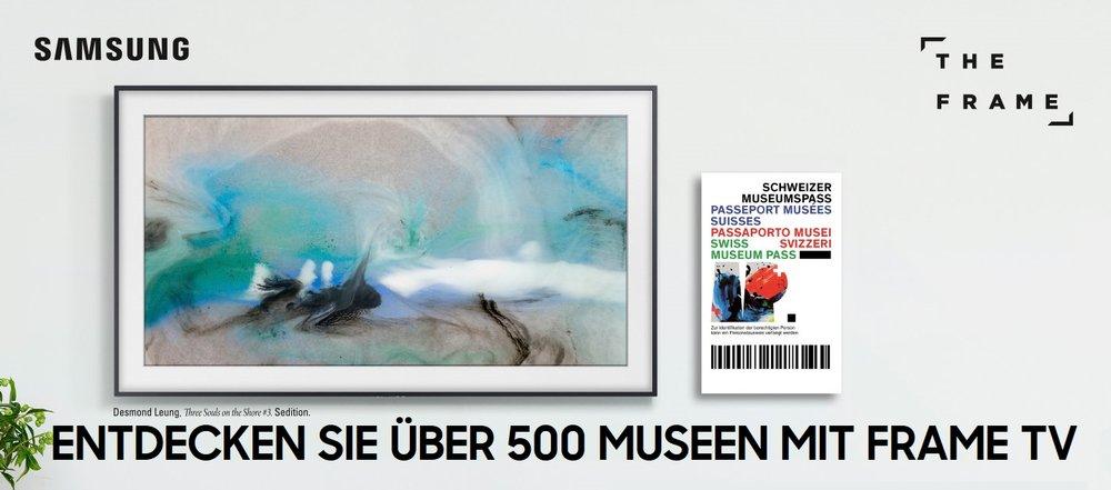 Entdecken Sie über 500 Museen mit Frame TV - The Frame TV kaufen und 1 Jahr lang den Schweizer Museumpass für die ganze Familie im Wert von CHF 288.-- geniessen. **https://goo.gl/JUupLR