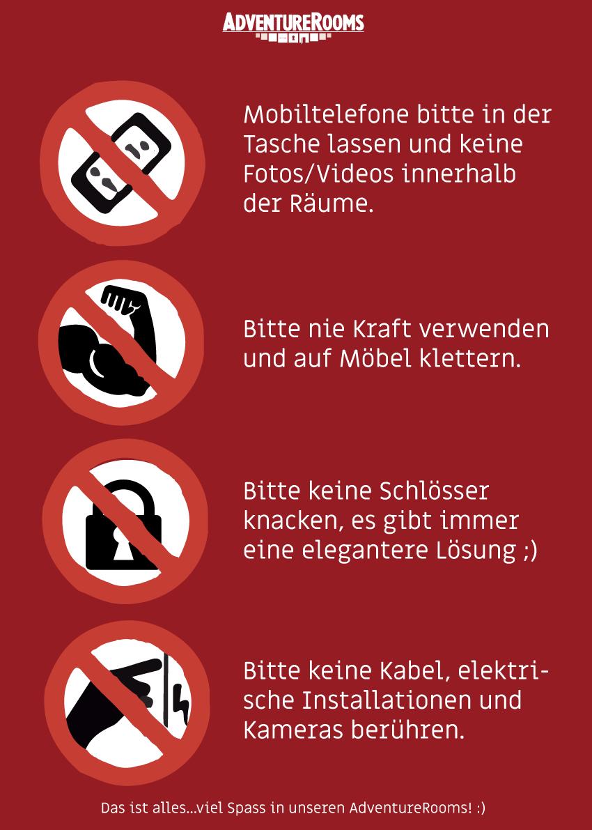Unsere ganz einfachen Regeln ;)