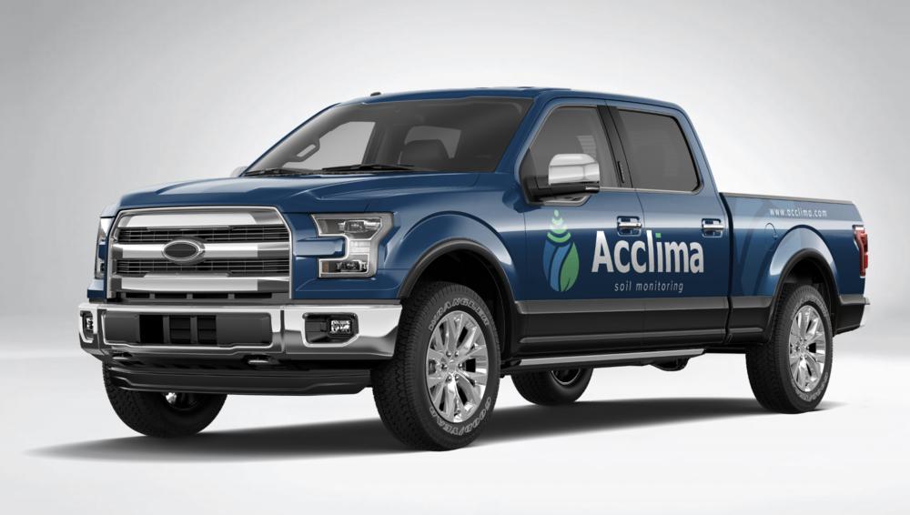 Acclima Truck Wrap Concept