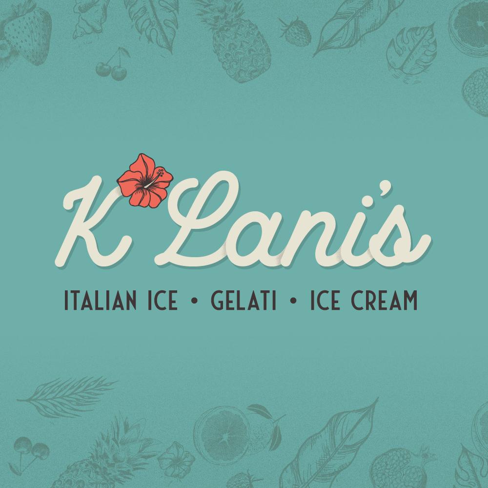 K'Lani's Frozen Desserts brand design