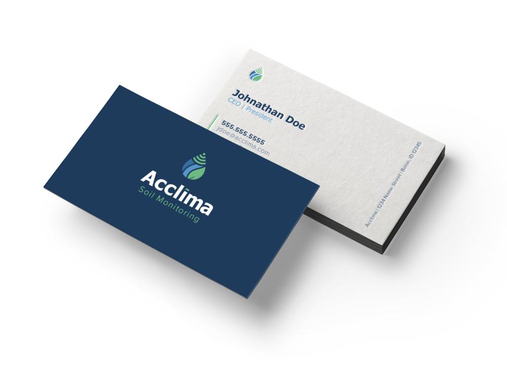 Acclima Business Card