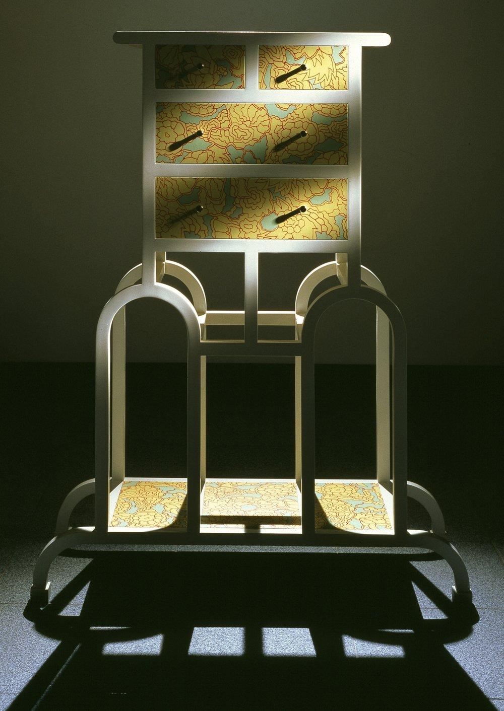 "Cabinet ""George"", Memphis, 1987"