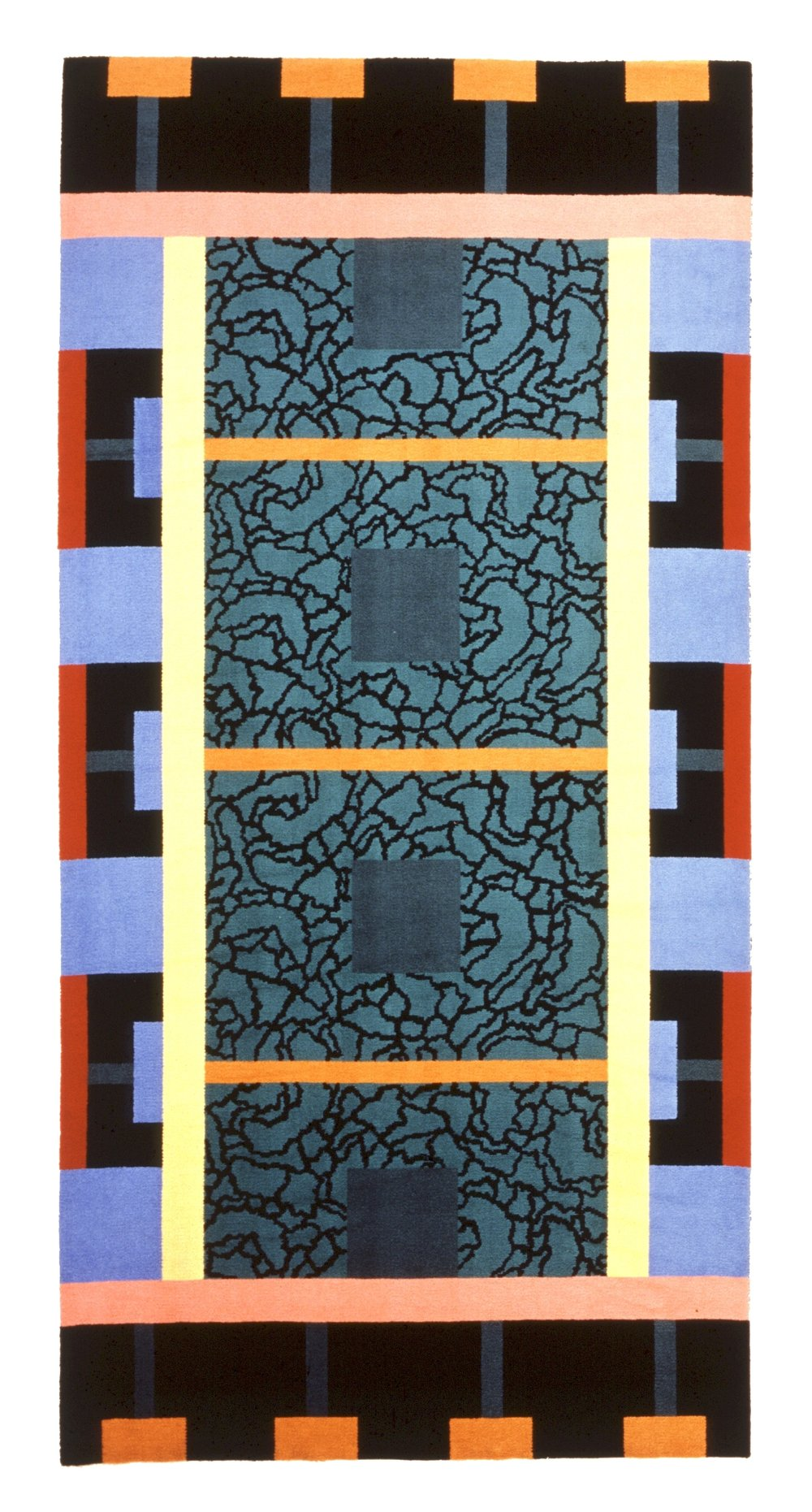 """Carpet """"Nuova Inghilterra"""", Palmisano, 1986"""