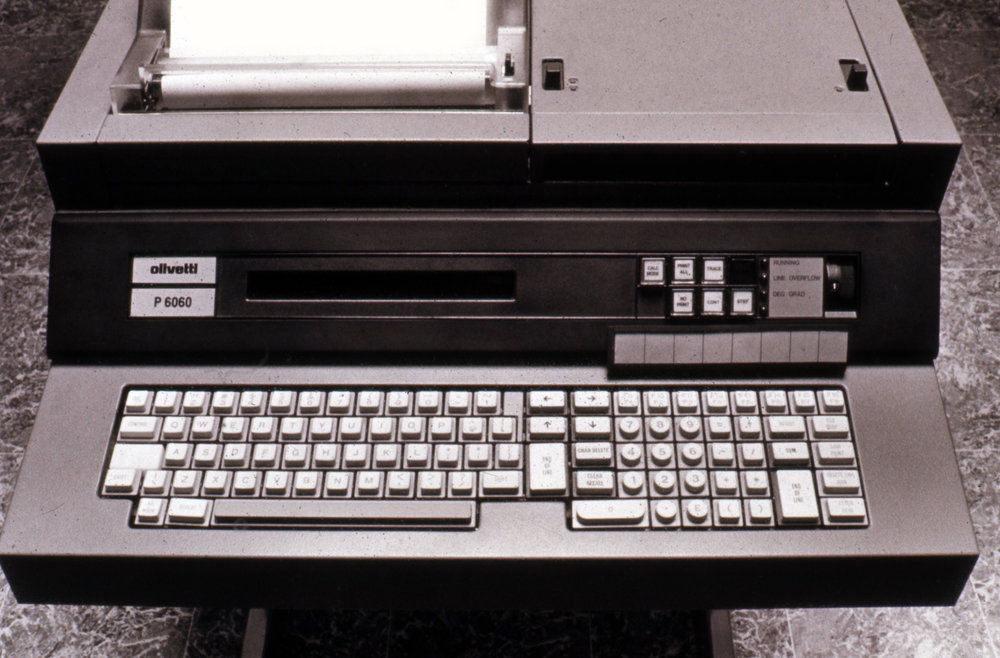 Ettore Sottsass with George Sowden, Computer p6060, Olivetti, 1973-74