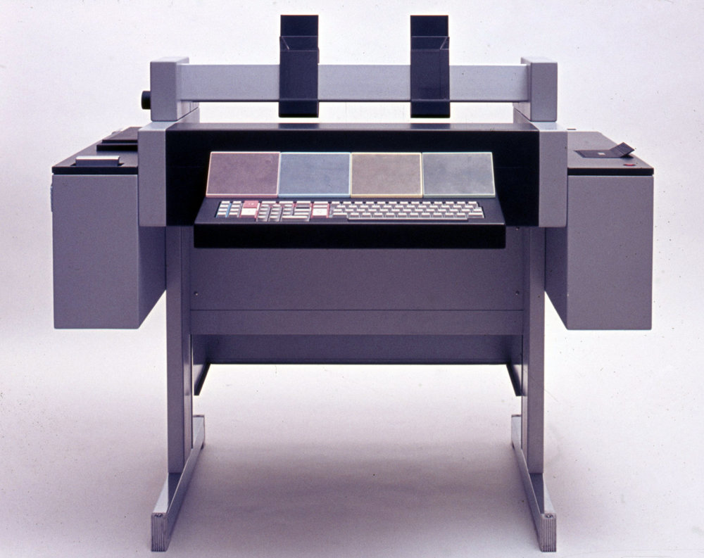 Study for teleprinter, Olivetti, 1972