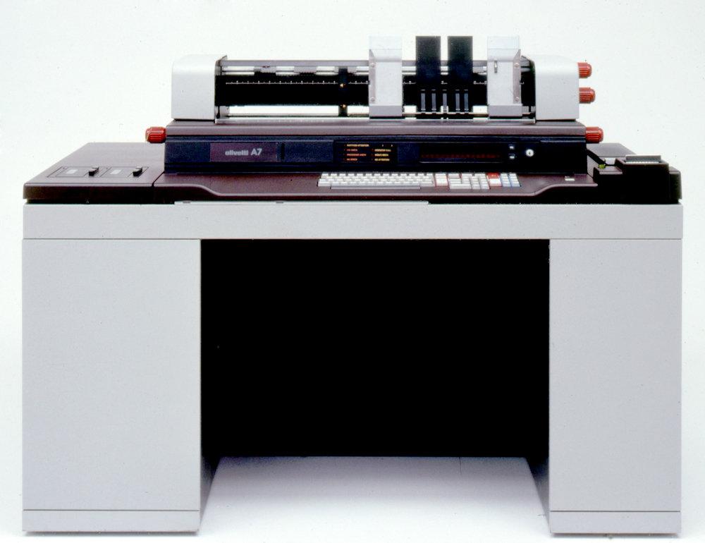 Olivetti A7, 1974