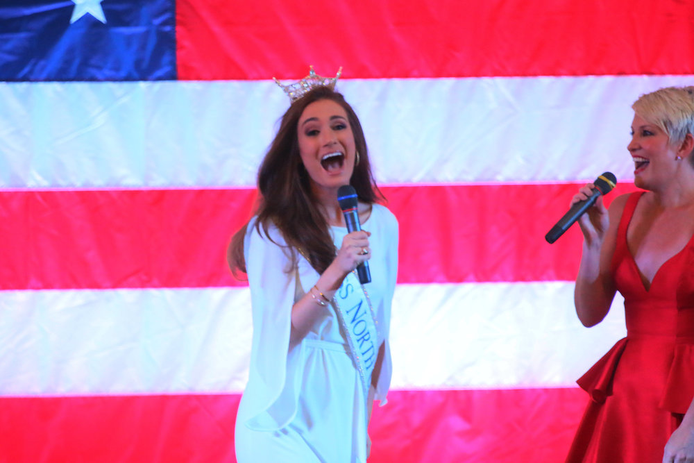Miss North Carolina and Rachael Murray