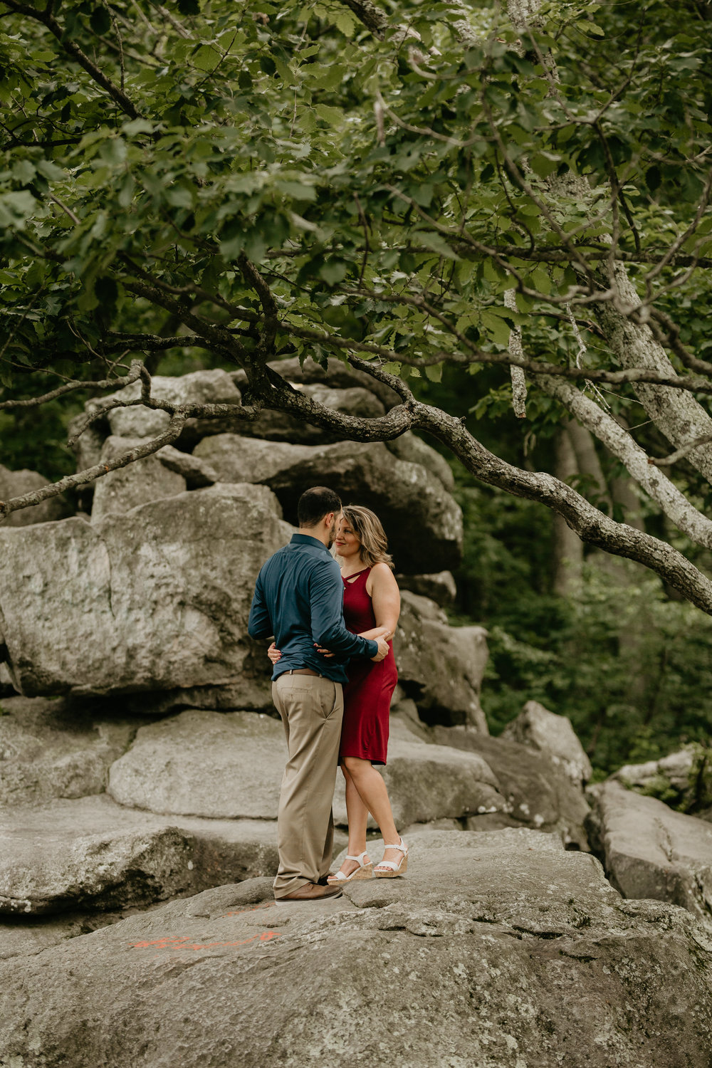 Nicole-Daacke-Photography-rock-state-park-overlook-king-queen-seat-maryland-hiking-adventure-engagement-session-photos-portraits-summer-bel-air-dog-engagement-session-17.jpg