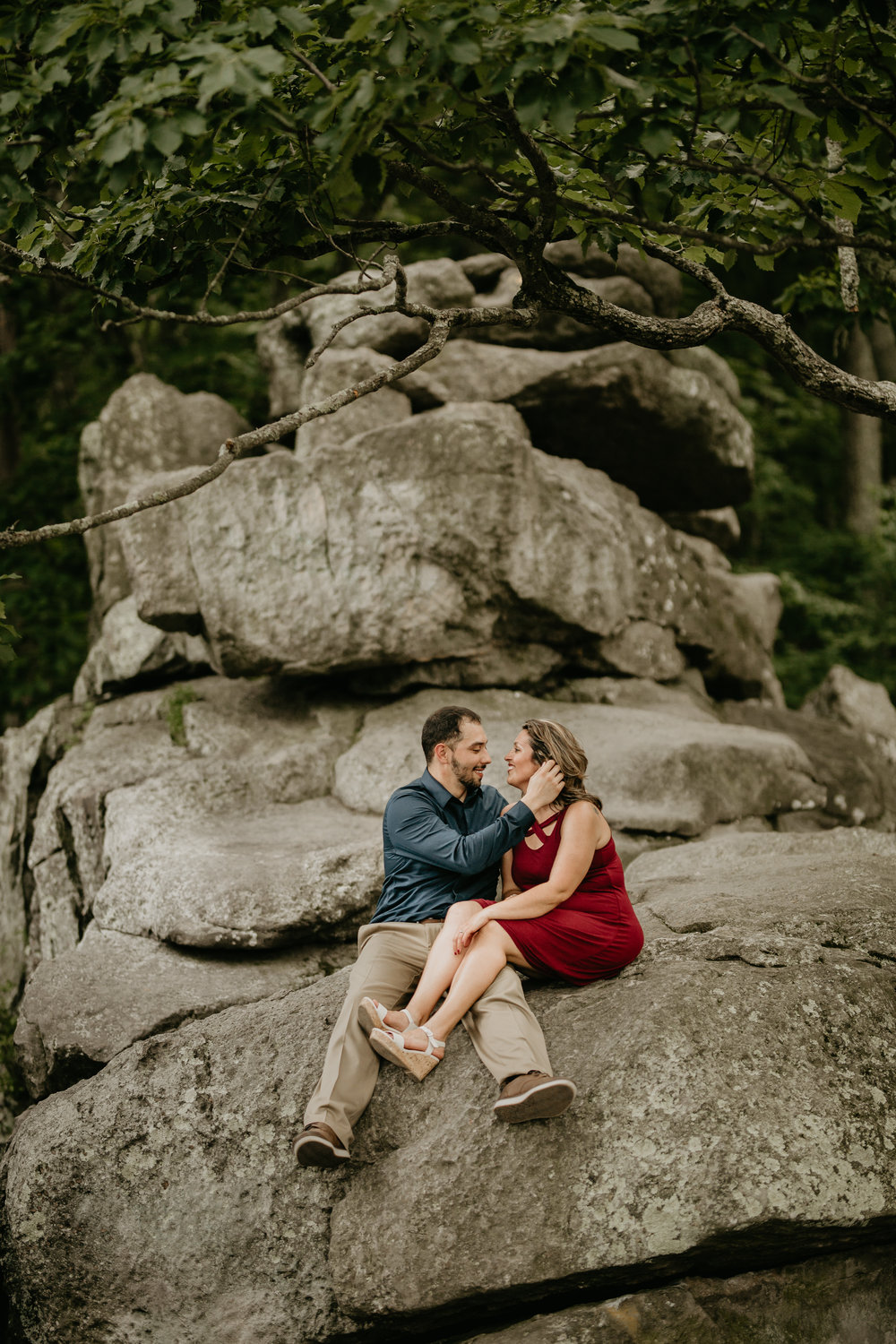Nicole-Daacke-Photography-rock-state-park-overlook-king-queen-seat-maryland-hiking-adventure-engagement-session-photos-portraits-summer-bel-air-dog-engagement-session-19.jpg