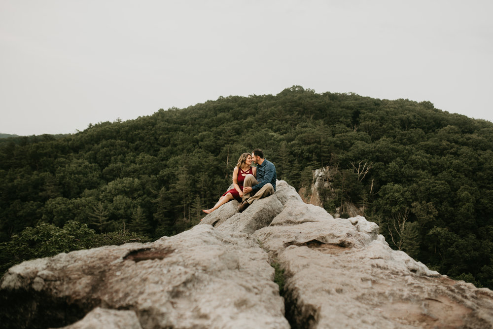 Nicole-Daacke-Photography-rock-state-park-overlook-king-queen-seat-maryland-hiking-adventure-engagement-session-photos-portraits-summer-bel-air-dog-engagement-session-33.jpg