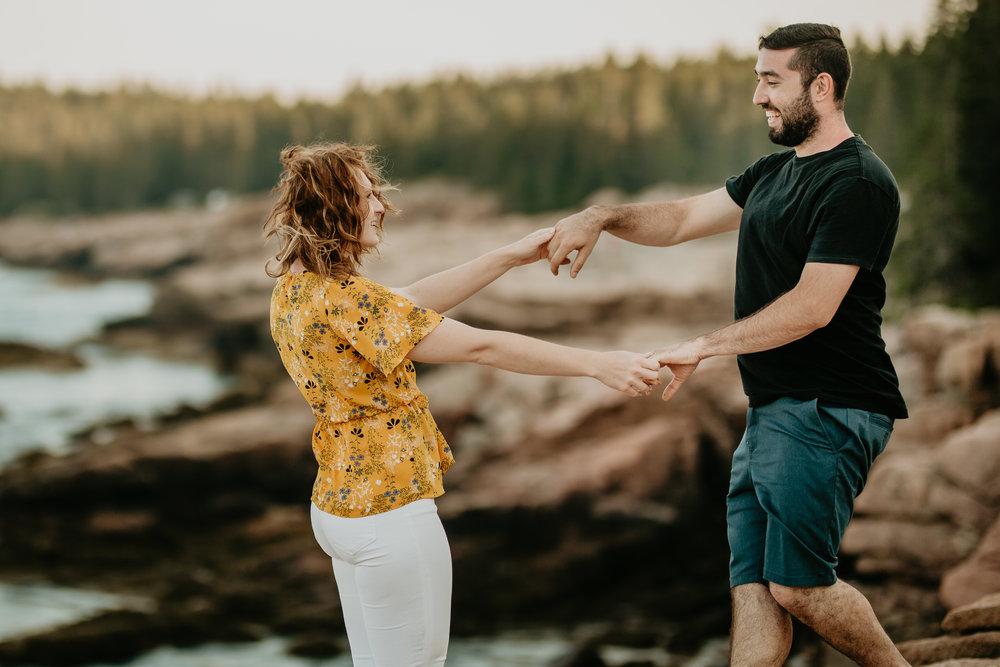 nicole-daacke-photography-acadia-national-park-engagement-photos-session-little-hunters-beach-sunset-cadillac-mountain-thunder-hole-otter-cliffs-couples-session-acadia-elopement-photographer-pine-trees-ocean-maine-18.jpg