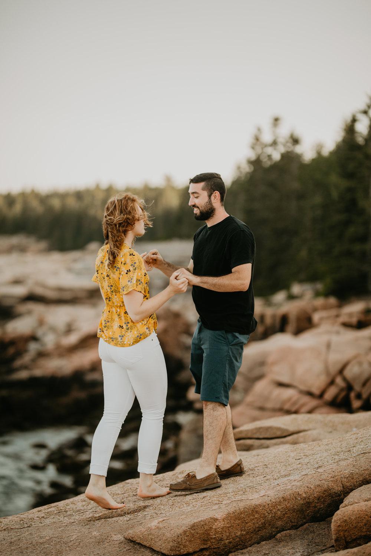 nicole-daacke-photography-acadia-national-park-engagement-photos-session-little-hunters-beach-sunset-cadillac-mountain-thunder-hole-otter-cliffs-couples-session-acadia-elopement-photographer-pine-trees-ocean-maine-20.jpg