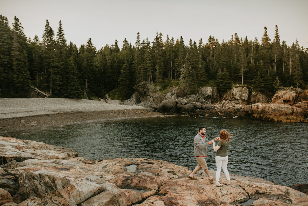 nicole-daacke-photography-acadia-national-park-engagement-photos-session-little-hunters-beach-sunset-cadillac-mountain-thunder-hole-otter-cliffs-couples-session-acadia-elopement-photographer-pine-trees-ocean-maine-64.jpg