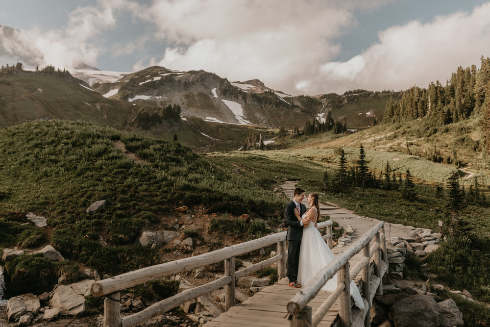 Nicole-Daacke-Photography-Mt-Rainier-elopement-photographer-washington-mountain-epic-wedding-photography-wildflowers-at-rainier-pine-tree-cloudy-summer-day-at-mountain-rainier-11.jpg