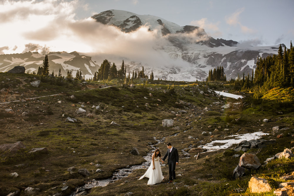 Nicole-Daacke-Photography-Mt-Rainier-elopement-photographer-washington-mountain-epic-wedding-photography-wildflowers-at-rainier-pine-tree-cloudy-summer-day-at-mountain-rainier-37.jpg