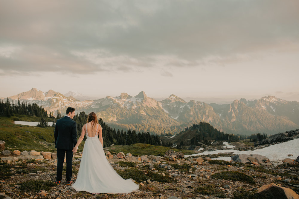 Nicole-Daacke-Photography-Mt-Rainier-elopement-photographer-washington-mountain-epic-wedding-photography-wildflowers-at-rainier-pine-tree-cloudy-summer-day-at-mountain-rainier-45.jpg