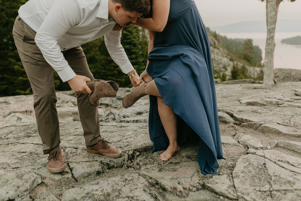 nicole-daacke-photography-lake-tahoe-sunrise-summer-adventure-engagement-photos-nevada-wedding-elopement-photographer-golden-emerald-bay-light-pine-trees-summer-vibe-fun-carefree-authentic-love-1.jpg
