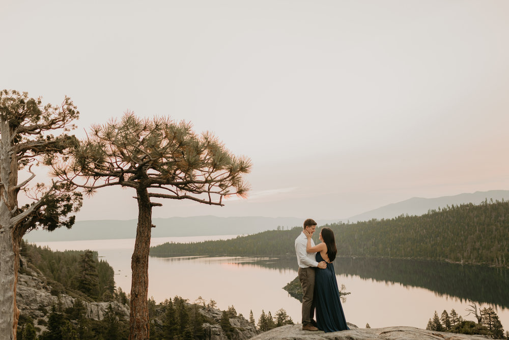 nicole-daacke-photography-lake-tahoe-sunrise-summer-adventure-engagement-photos-nevada-wedding-elopement-photographer-golden-emerald-bay-light-pine-trees-summer-vibe-fun-carefree-authentic-love-2.jpg