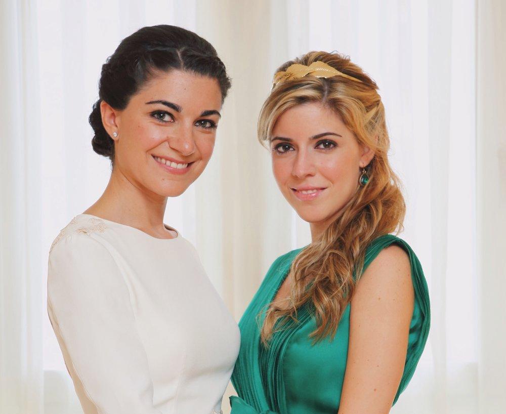 Natalia y su hermana