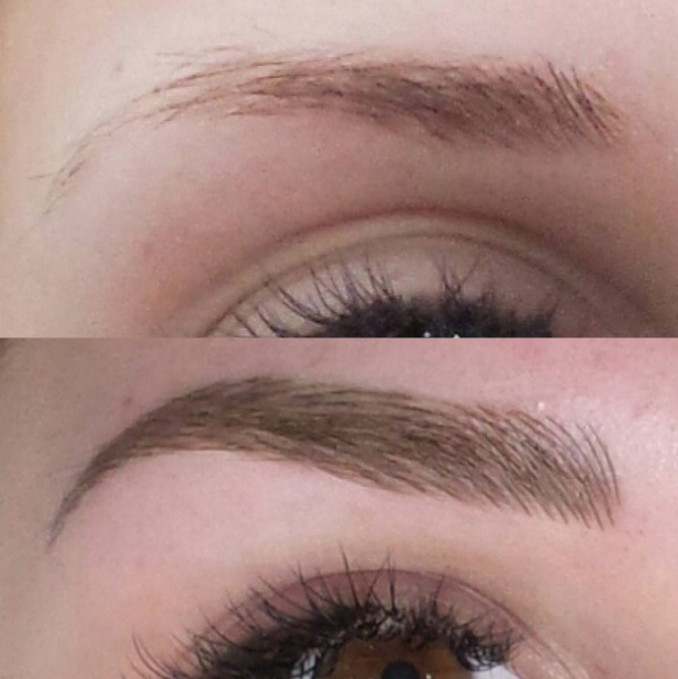 Traditional Tattoo Vs Microblading Vs Ombr Powder Brows Tint