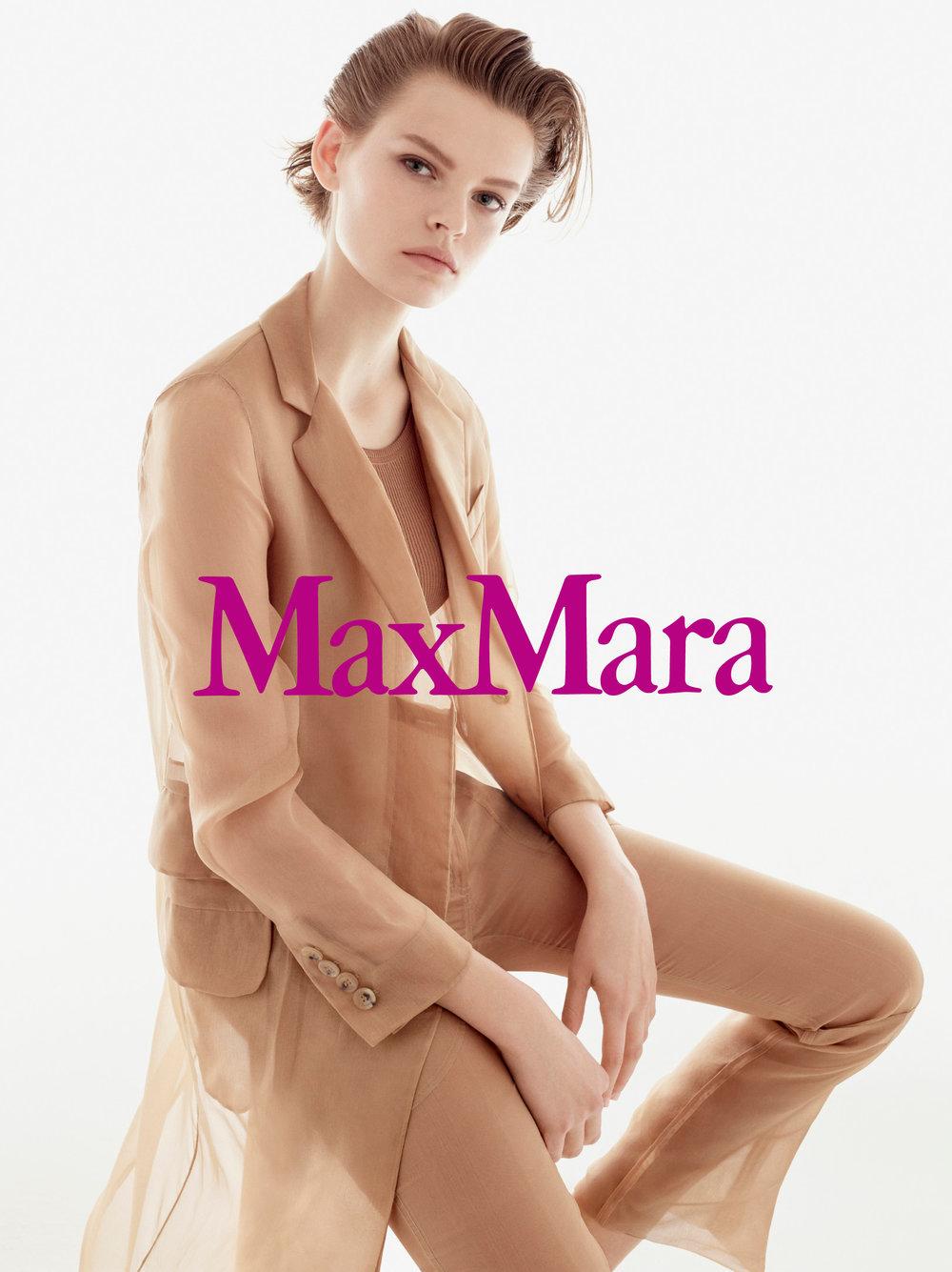 #maxmara #ss18 #stevenmeisel #carineroitfeld #carataylor #fashion #campaign #jimkaemmerling #patmcgrath #guidopalau