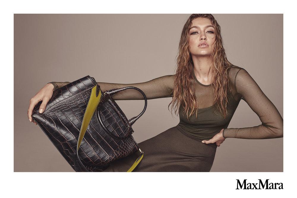#maxmara #fw16 #stevenmeisel #carineroitfeld #gigihadid #accessories #campaign #jimkaemmerling #patmcgrath #guidopalau