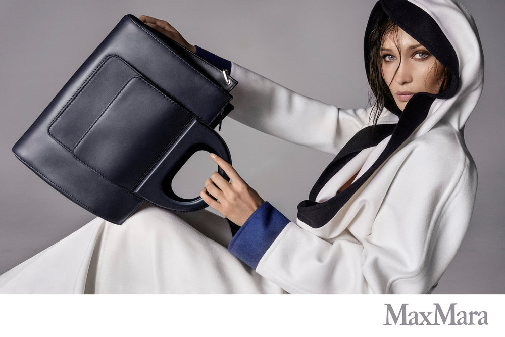 #maxmara #ss18 #stevenmeisel #carineroitfeld #bellahadid #accessories #campaign #jimkaemmerling #patmcgrath #guidopalau
