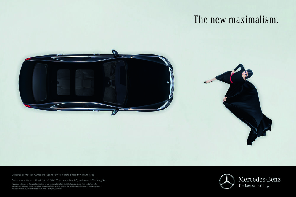 #mercedesbenz #sclass #carineroitfeld #suihe #maxvongumppenberg #patrickbienert #jimkaemmerling #gianvitorossi #campaign