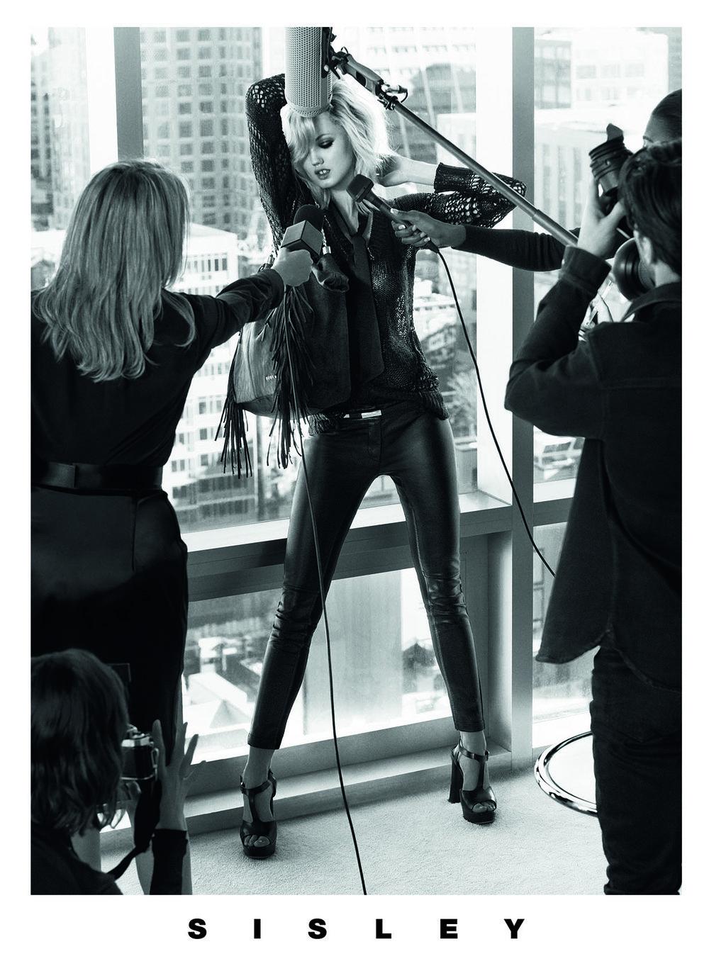 #sisley #sebastianfaena #ss14 #fashion #campaign #juliarestoinroitfeld #lindsaywixson #clementchabernaud #reubenramacher #juliavonboehm #shayashual #frankieboyd #jimkaemmerling #happymassee