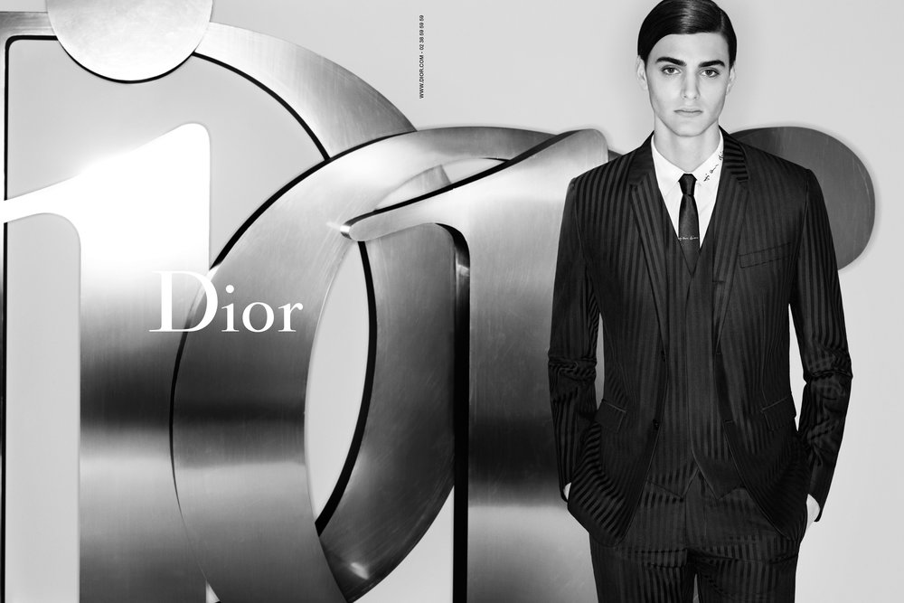 #diorhomme #karllagerfeld #colejames #ss15 #fashion #campaign #mens #krisvanaasche