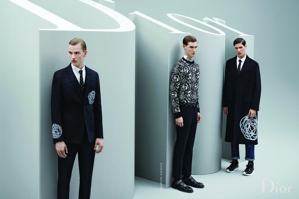 #diorhomme #karllagerfeld #fw14 #fashion #campaign #mens #krisvvanassche