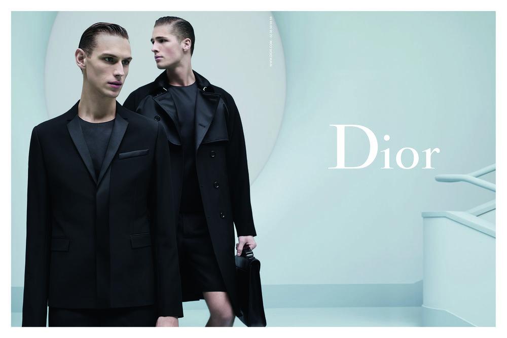 #diorhomme #karllagerfeld #ss14 #edwardwilding #victornorlander #fashion #campaign #mens #krisvvanassche