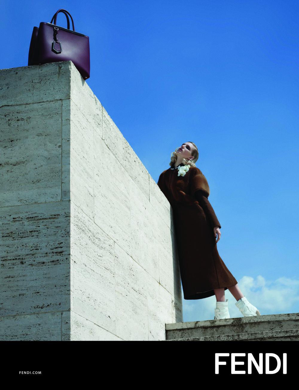 #fendi #karllagerfeld #fw14 #campaign #fashion #nadjabender #ashleighgood #charlottestockdale #amandaharlech #jimkaemmerling #tompecheux #sammcknight